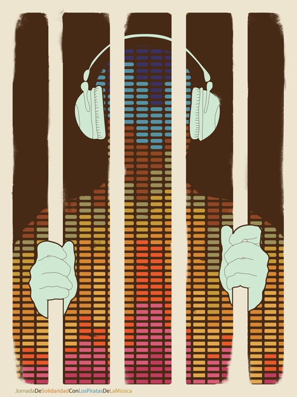 40 examples of creative music posters