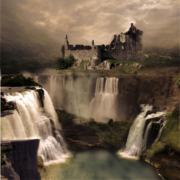 Fantasy Landscape Wallpaper: The Art Of Photo Manipulation. Techniques And Examples