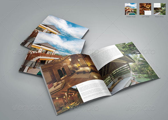 resort villa square brochure