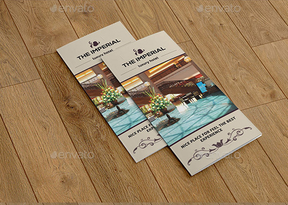 the imperial accomodation luxury hotel brochure