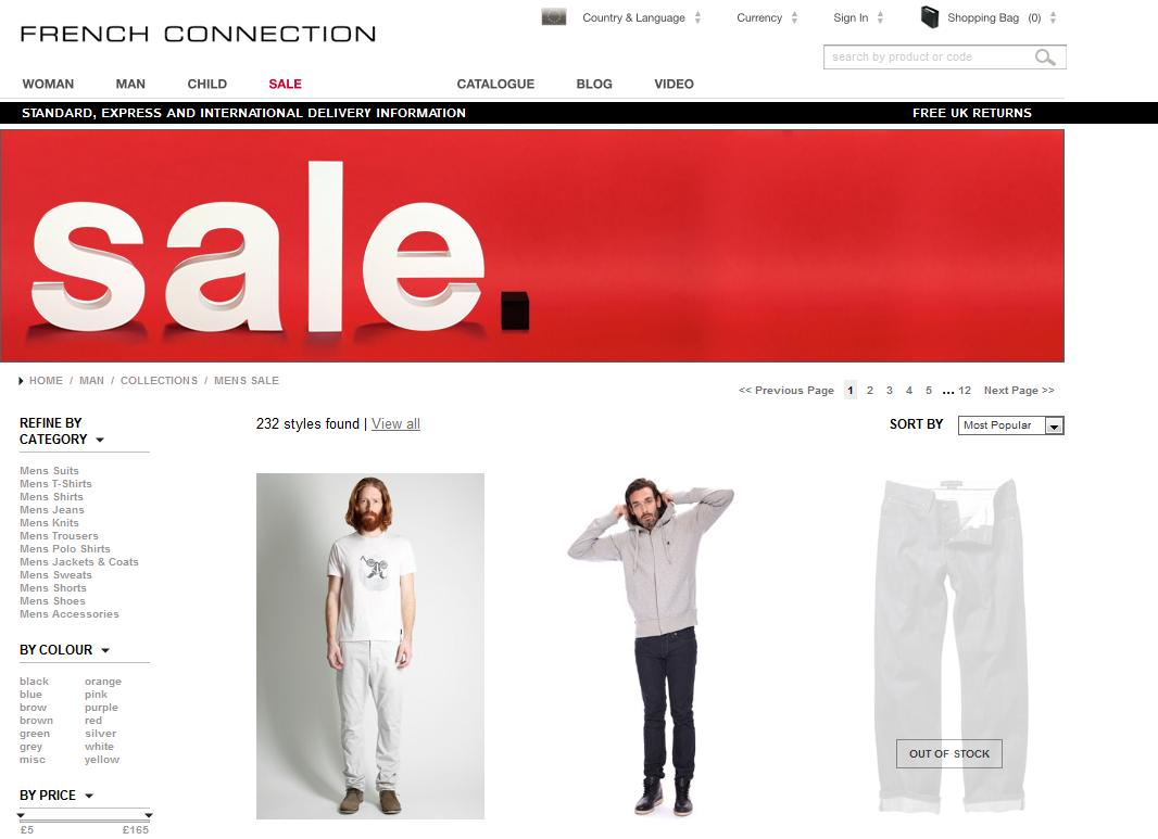 30 Fashion Website Designs For Your Inspiration