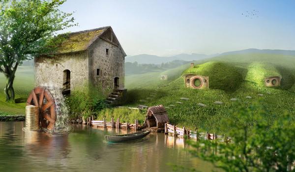 hobbitshire-photo-manipulation