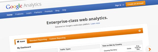 google analytics for website maintenance