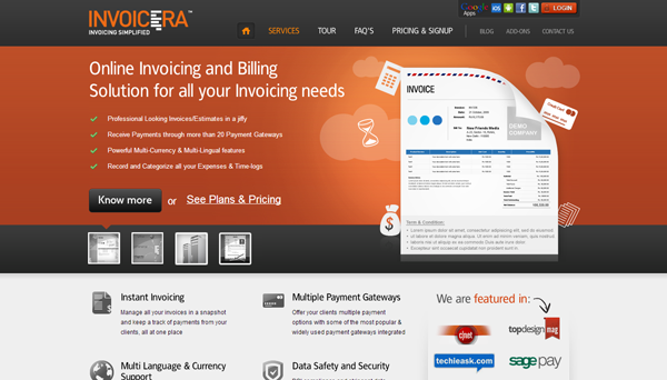 invoicera an app that makes invoicing as simple as abc