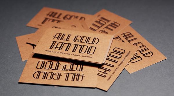 3 tips for creating impressive business cards for Business card size tattoos