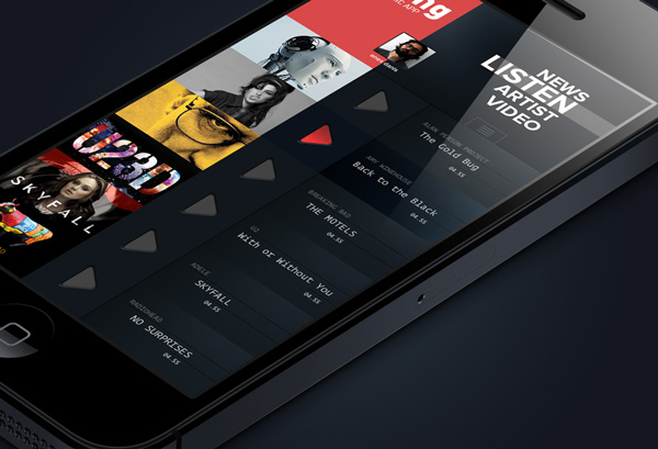 Great examples of mobile apps interface designs for Designing an iphone app