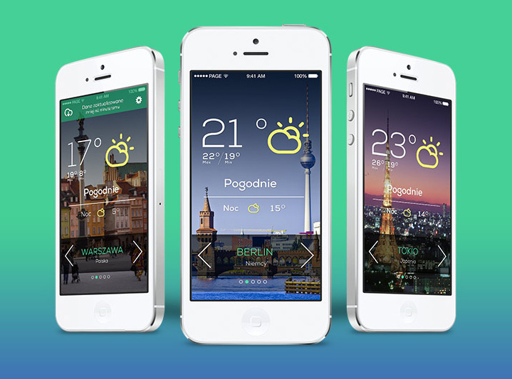 Great Examples of Mobile Apps Interface Designs