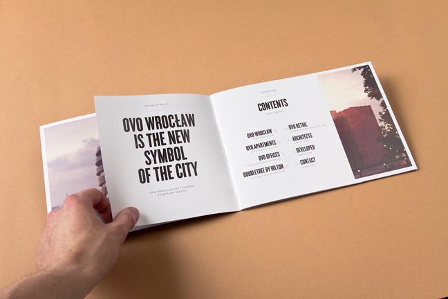 ovo wroclaw hotel brochures