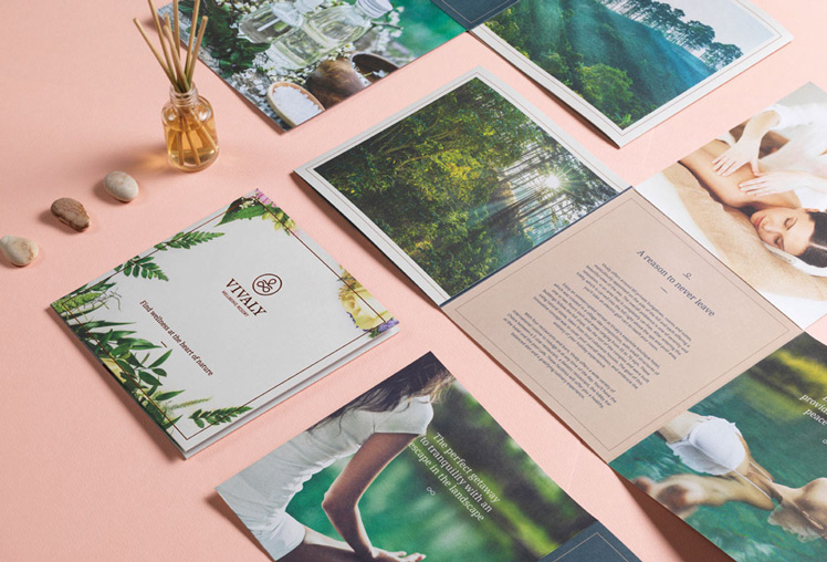 Brochure for Vivaly Wellbeing Resort by Creative Punch