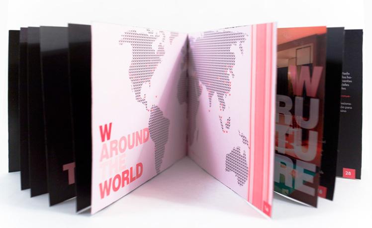 W Hotels - brochure by Cristina Orihuela