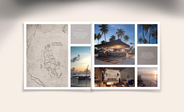 Zuri Zanzibar Resort - brochure by Katerina Horka