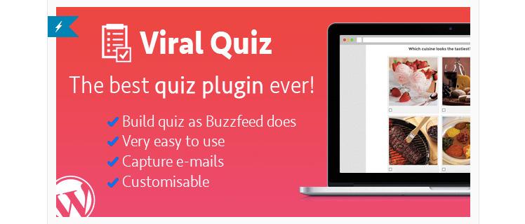 viral quiz wordpress questionnaire plugin
