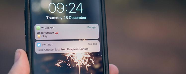 mobile push notifications on wordpress