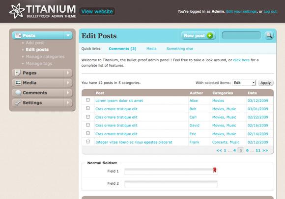 titanium-admin-panel