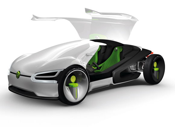 Stunning And Futuristic Examples Of Concept Car Designs - Simple sports car