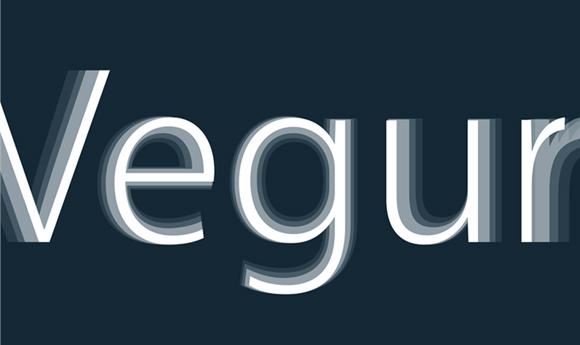 vegur-font