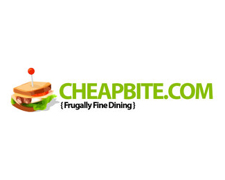 cheap bite food logo design