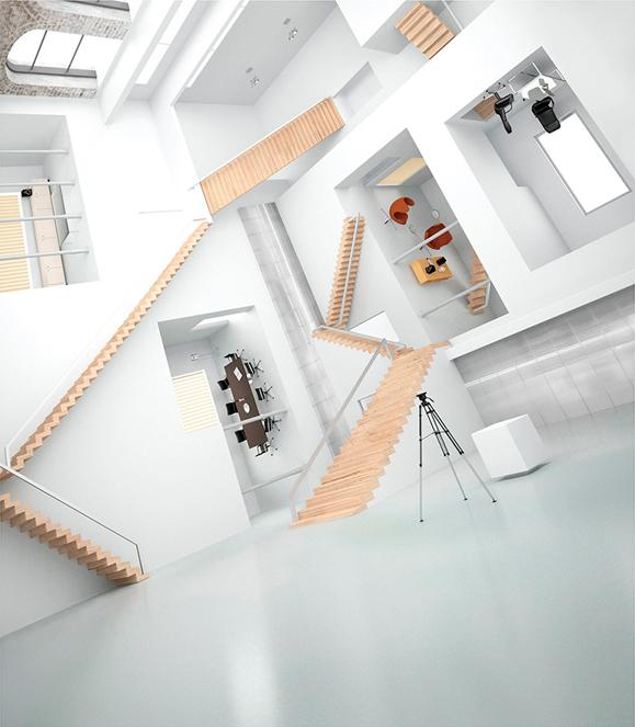 escher-building-3d