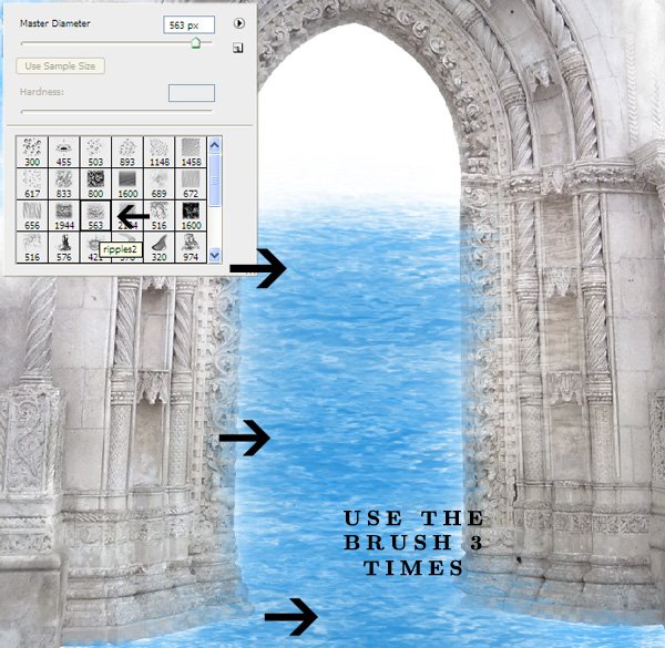 how to make brush tool look less smooth photoshop