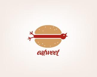 eatweet-twitter-logo-design