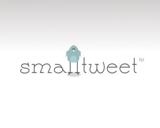 small-tweet-twitter-logo-design