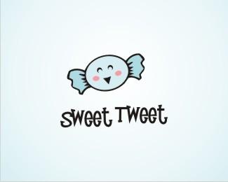 sweet-tweet-twitter-logo-design