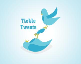 tickle-tweets-twitter-logo-design
