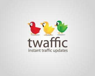 twaffic-instant-traffic-updates-twitter-logo-design