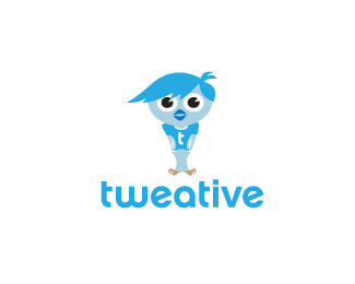 tweative-twitter-logo-design