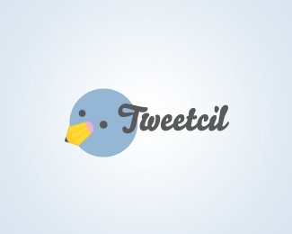 tweetcil-twitter-logo-design