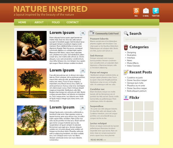 create-a-nature-inspired-wordpress-layout