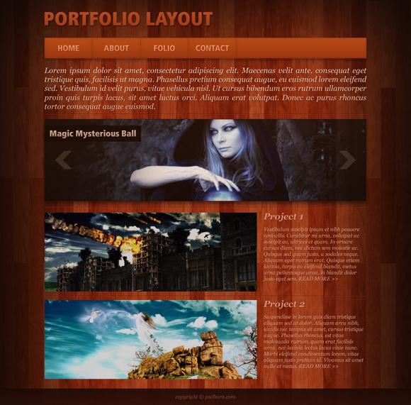 create-a-red-portfolio-layout-in-photoshop