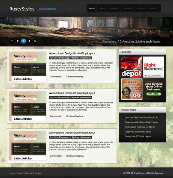 best web design layouts