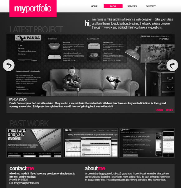 30 Best Web Design Layout Photoshop Tutorials