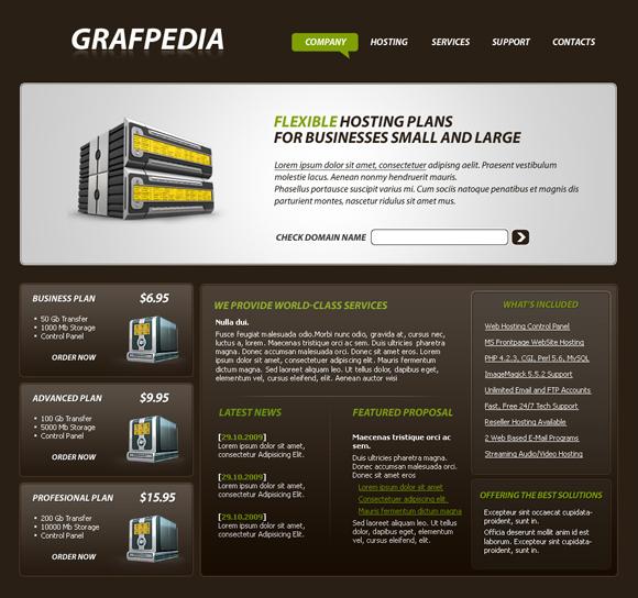 web-hosting-layout